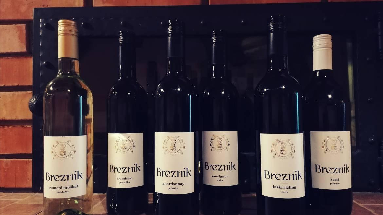 Vino tudi med prazniki